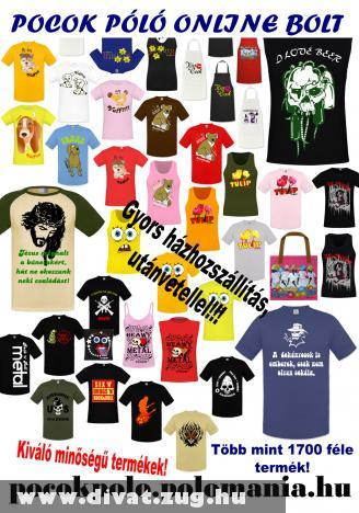 Pocok Póló online bolt - 2012-es NYÁRI KOLLEKCIÓ