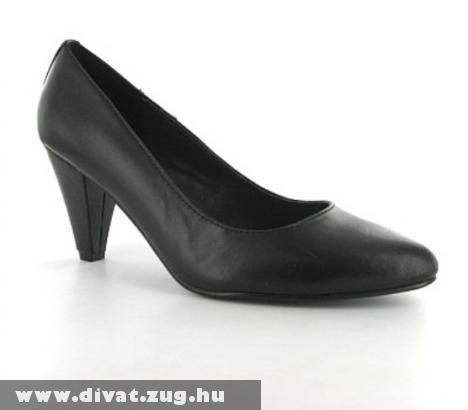 Fekete magassarkú cipõ eladó!! (ÚJ)