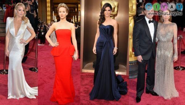 Az Oscar-gála legszebb ruhakölteményei