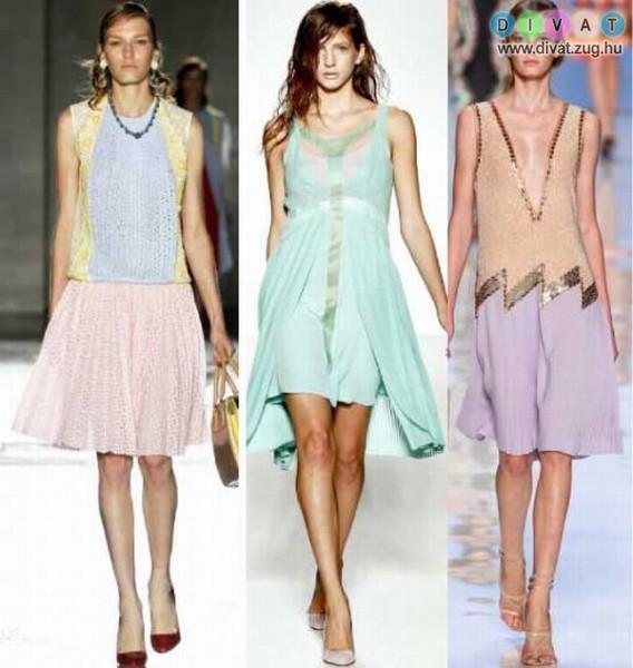 Ezek a színek az idei tavasz trendszínei