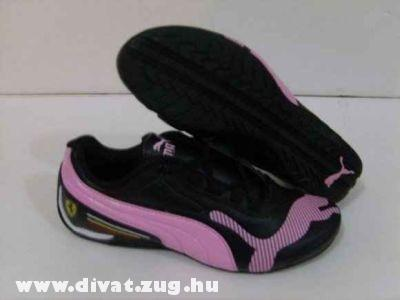 Fekete Puma sportcipõ