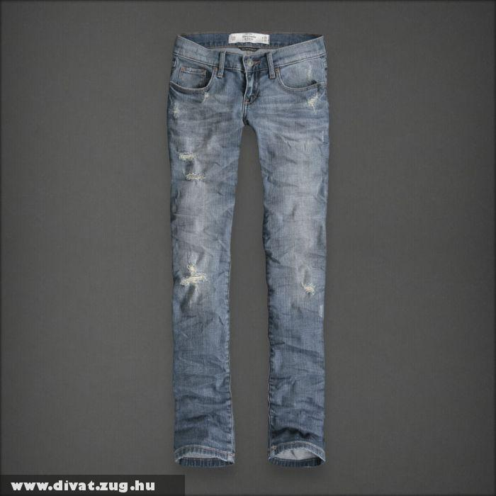 Abercrombie The Erin Skinny Destroyed