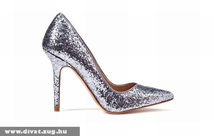 Zara csillogó nõi cipõ
