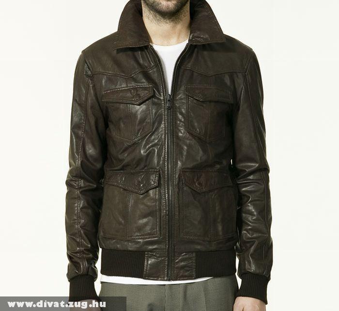 Zara bõr kabát