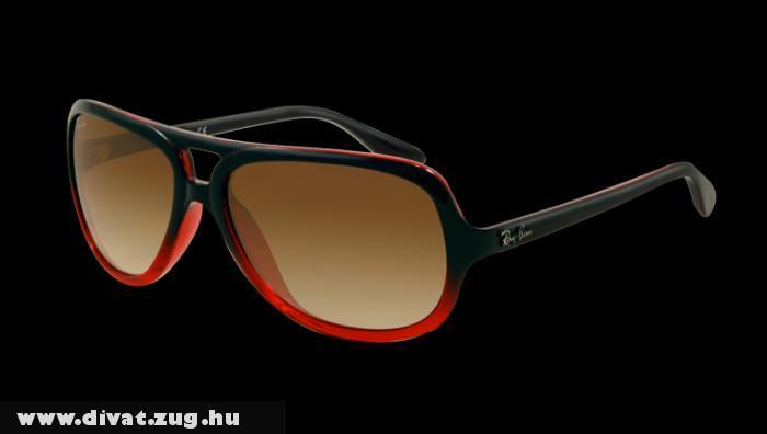 Ray-Ban piros-fekete napszemüveg