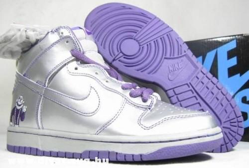 Lila Nike cipõ