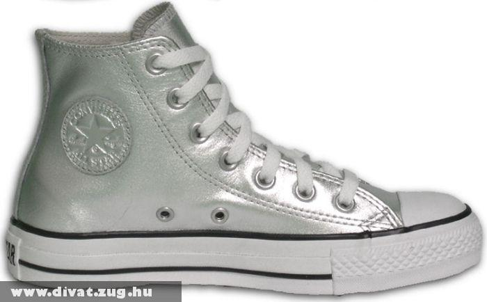 Ezüst Converse