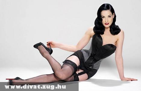 Dita Von Teese: Klasszikus divat, klasszikus szépség