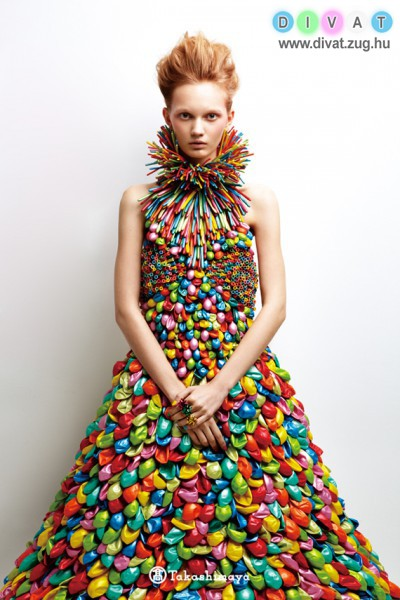 Extrém ruha lufiból. Hordanád?