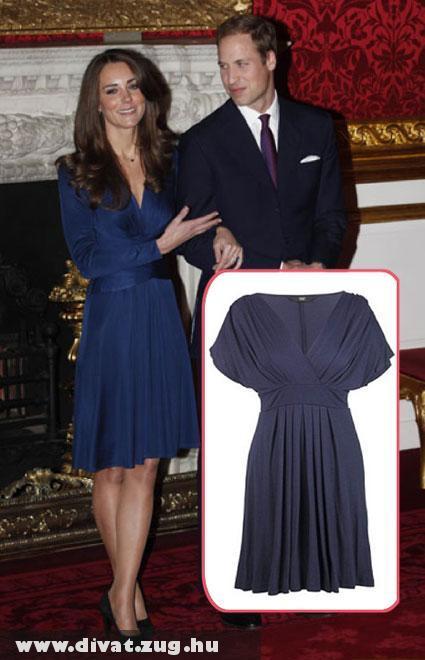 Kate Middleton eljegyzési ruhája megvásárolható a Tescoban!