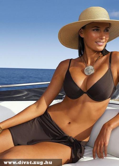Merevítõs bikini felsõ