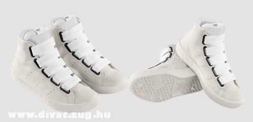 Fehér Adidas nõi cipõ