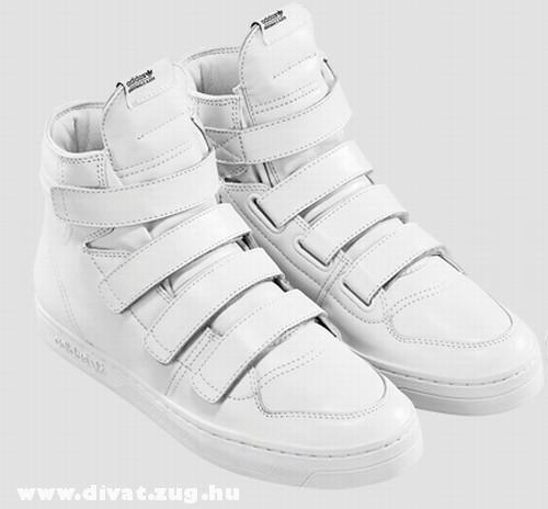 Fehér tépõzáras cipõ