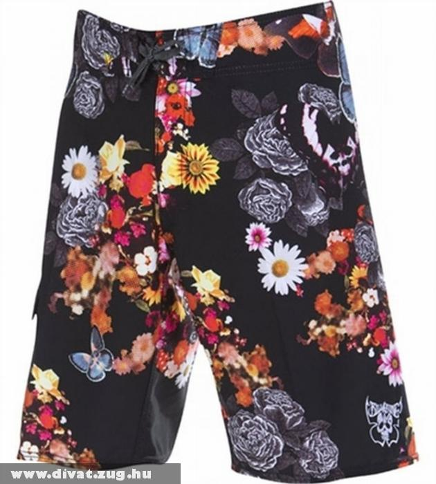 Billabong Blooming Death Black