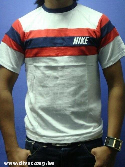 Csíkos Nike póló