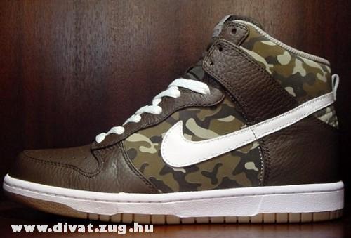 Terepszínû Nike cipõ