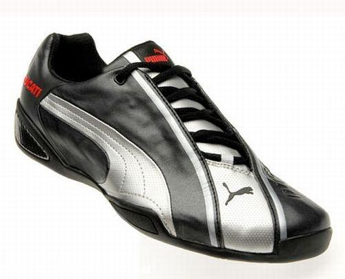 Fekete-ezüst Puma cipõ