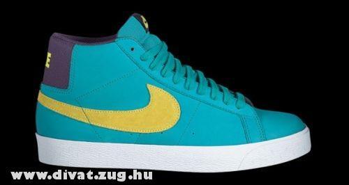 Kék-sárga Nike cipõ