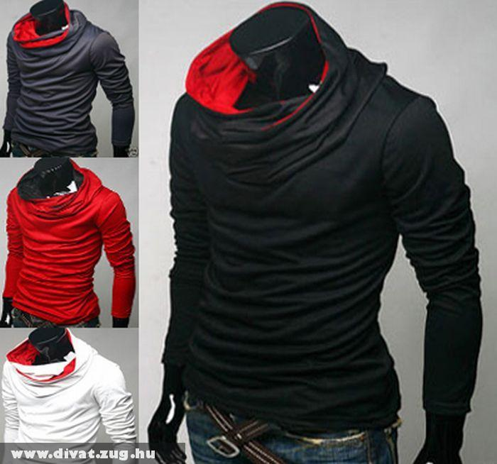 Turtleneck coloration hood