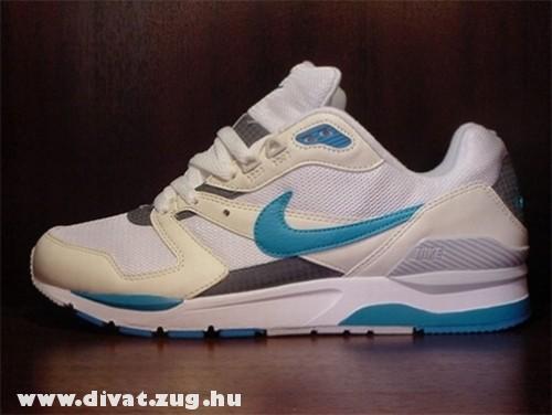 Kék-fehér cipõ