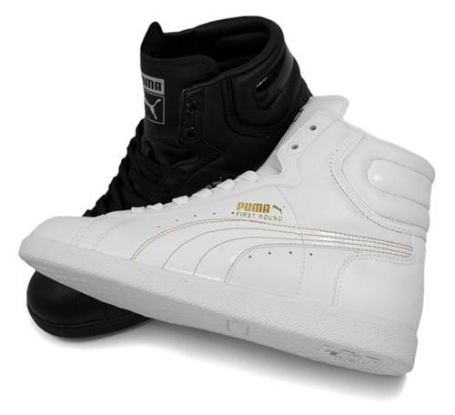 Fehér, fekete Puma cipõ