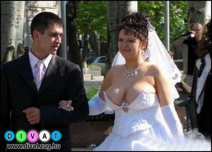 Extrém esküvői ruhaköltemény :)