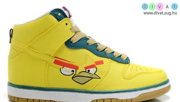 Angry Birds-ös cipő