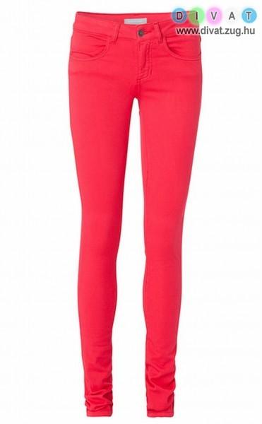 Csőszárú pink női nadrág