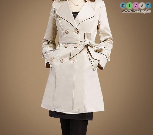 Elegáns őszi kabát