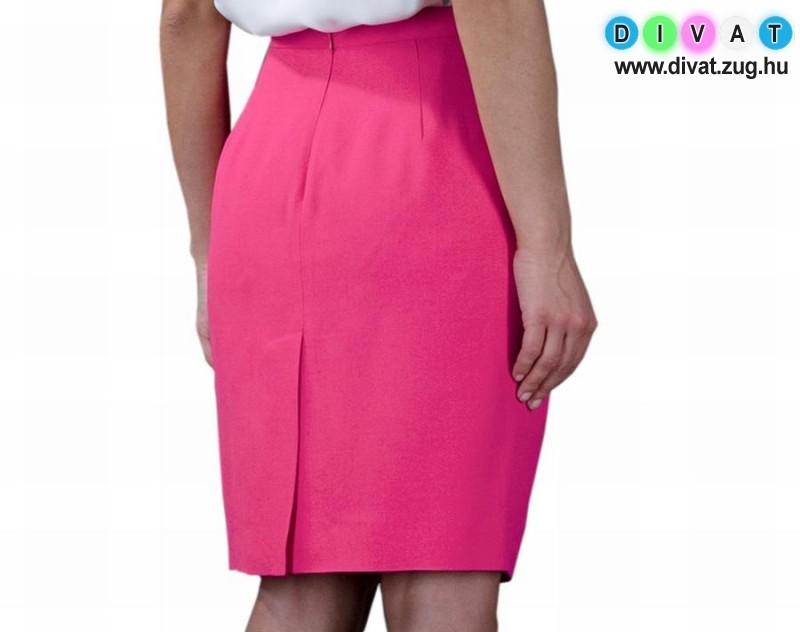 Elegáns pink szoknya