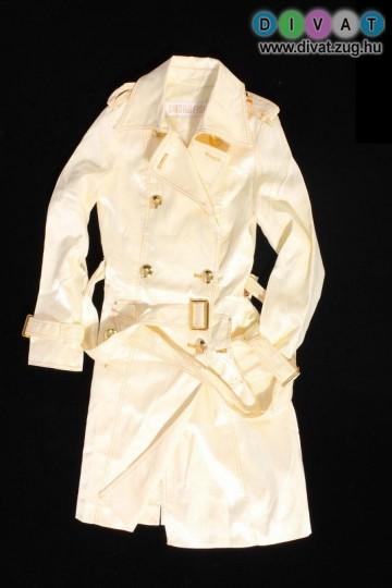 Elegáns vajszínű kabát