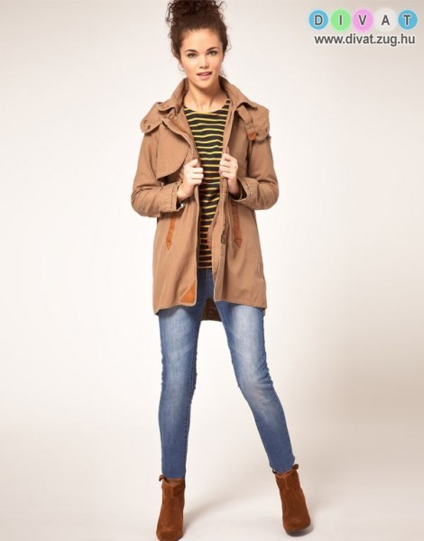 Trendi kabát