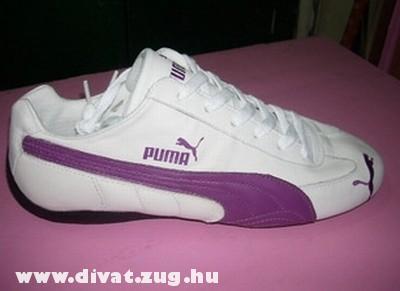 Puma lila-fehér cipõ