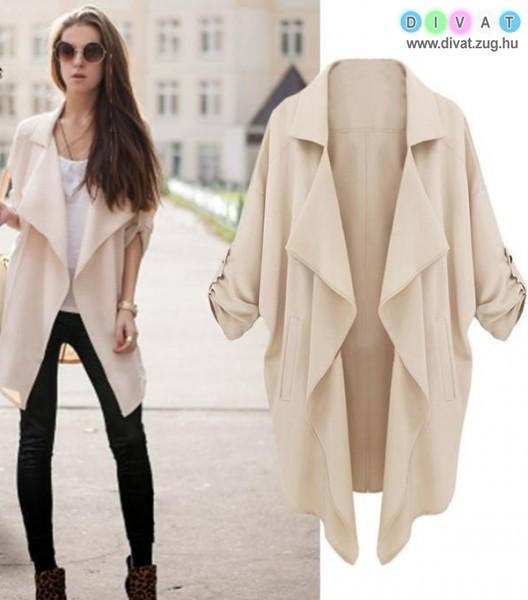 Laza, divatos tavaszi kabát