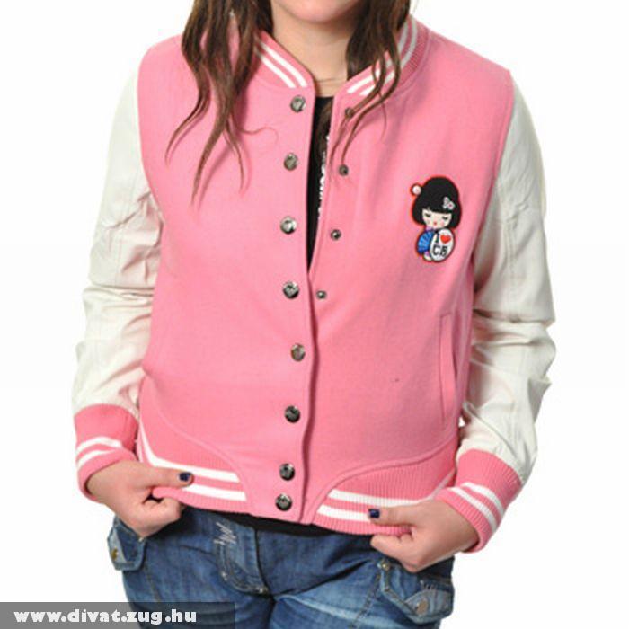 Celebrity Babe Pink Japanese Jacket