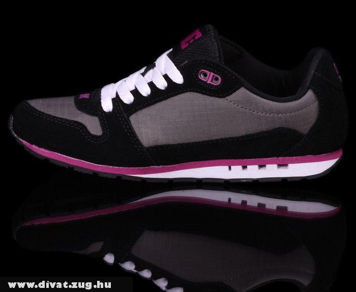 DC Shoes Alibi, Black/fuchsia
