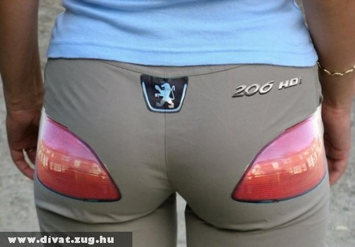 Peugeot nadrág