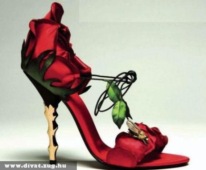 Rózsa cipõ