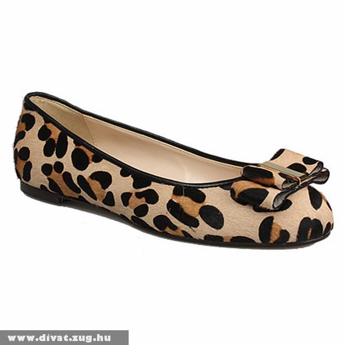 Leopárdmintás topánka