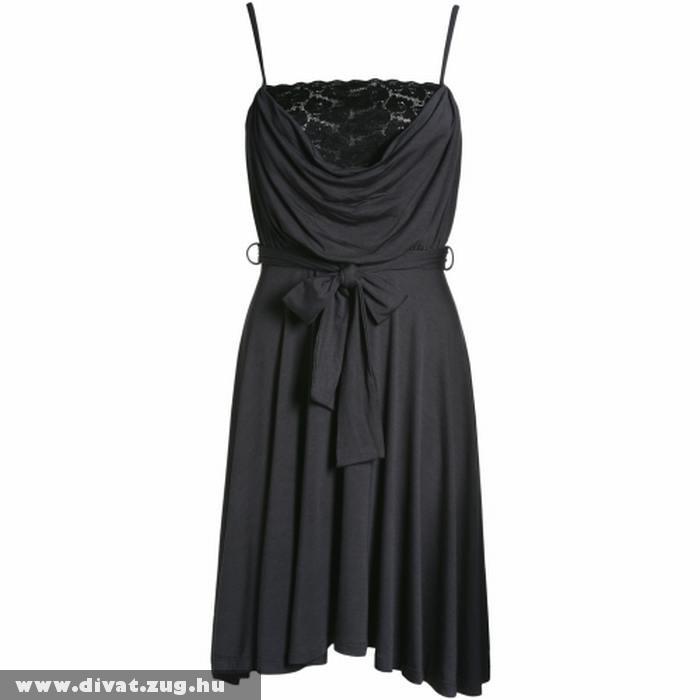 Elegáns feketeruha