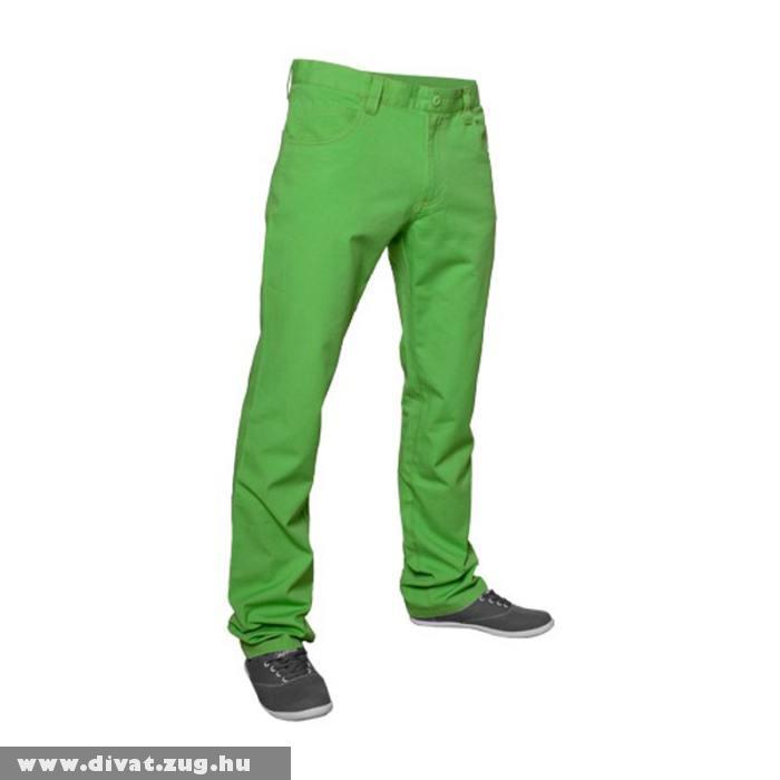 Zöld sportos férfi nadrág