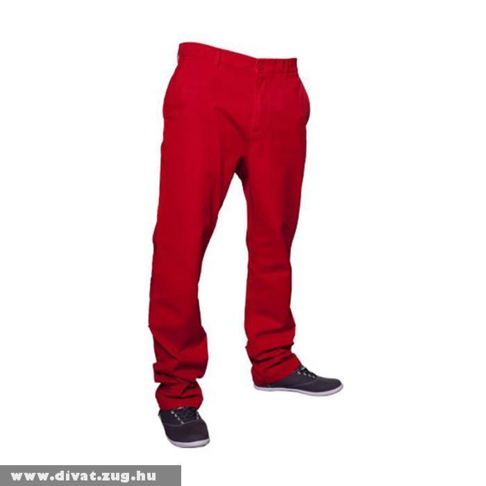Piros sportos férfi nadrág
