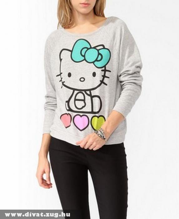 Hello Kitty-s pulcsi