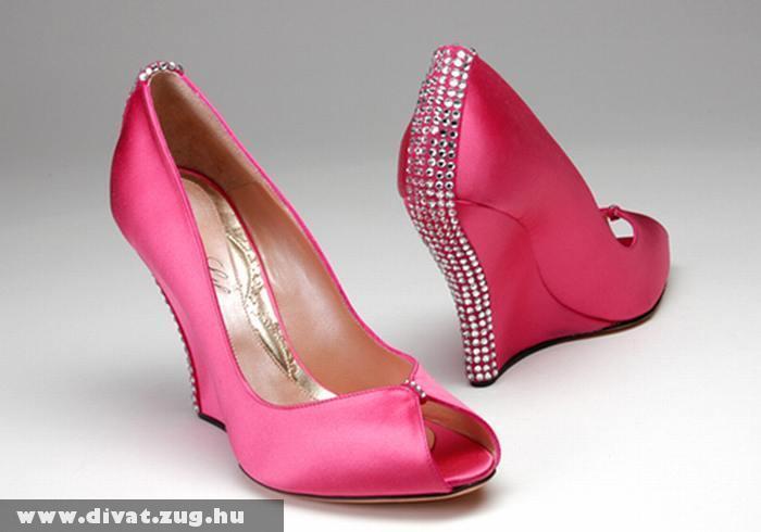 Rózsaszín szatén cipõ · Galéria · Divat Magazin 912739695d