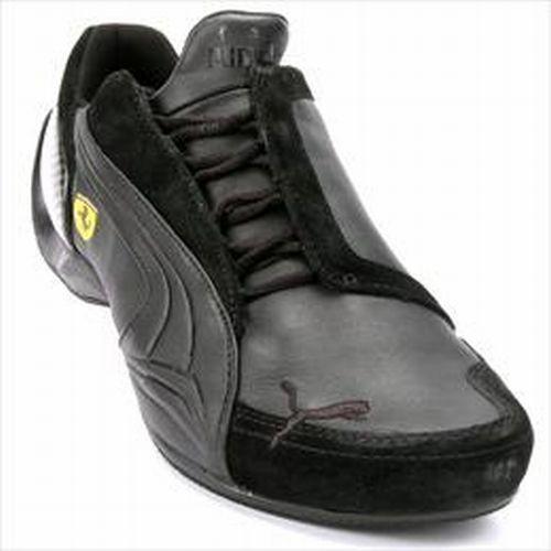 Fekete-szürke Puma cipõ