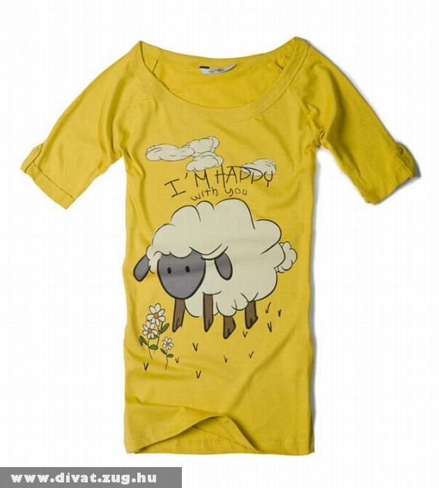 Bárány mintás póló