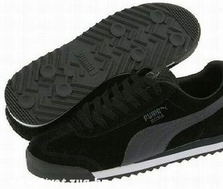 Fekete Puma Roma cipõ