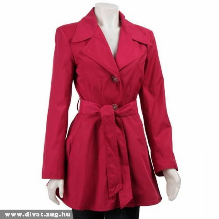 Piros elegáns nõi kabát