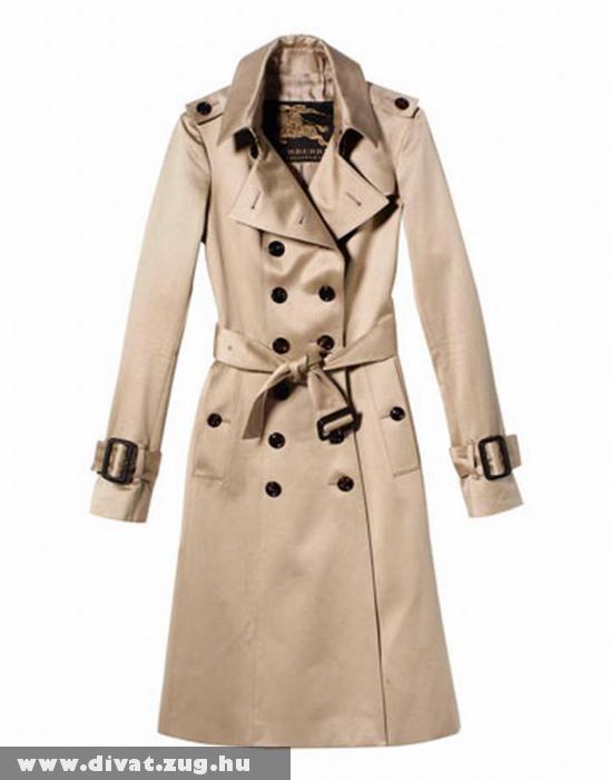 Vajkrémszínû elegáns kabát