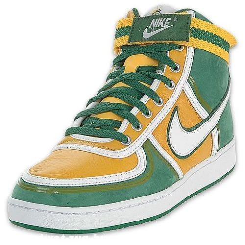 Zöld-sárga Nike cipõ